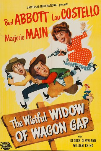 The Wistful Widow of Wagon Gap Poster