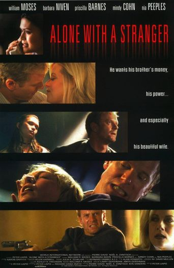 Alone with a Stranger Poster