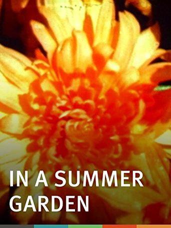 In a Summer Garden Poster
