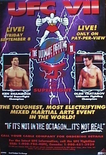 UFC 7: The Brawl In Buffalo Poster