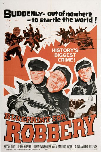 Blueprint For Robbery Poster