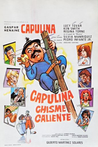 Capulina Chisme Caliente Poster