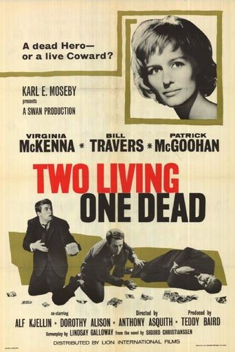 Two Living, One Dead Poster