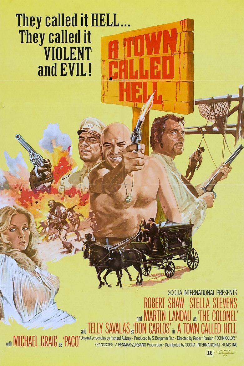 A Town Called Hell Poster