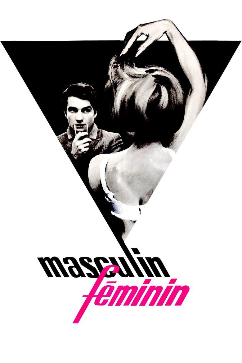 Masculin Féminin Poster