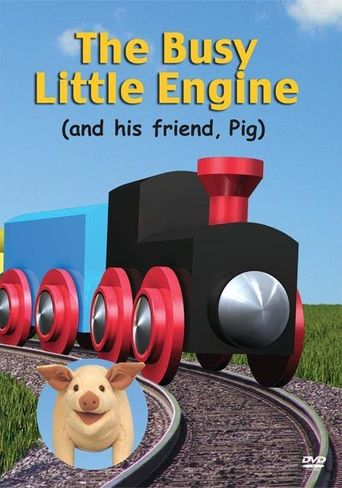 The Busy Little Engine Poster