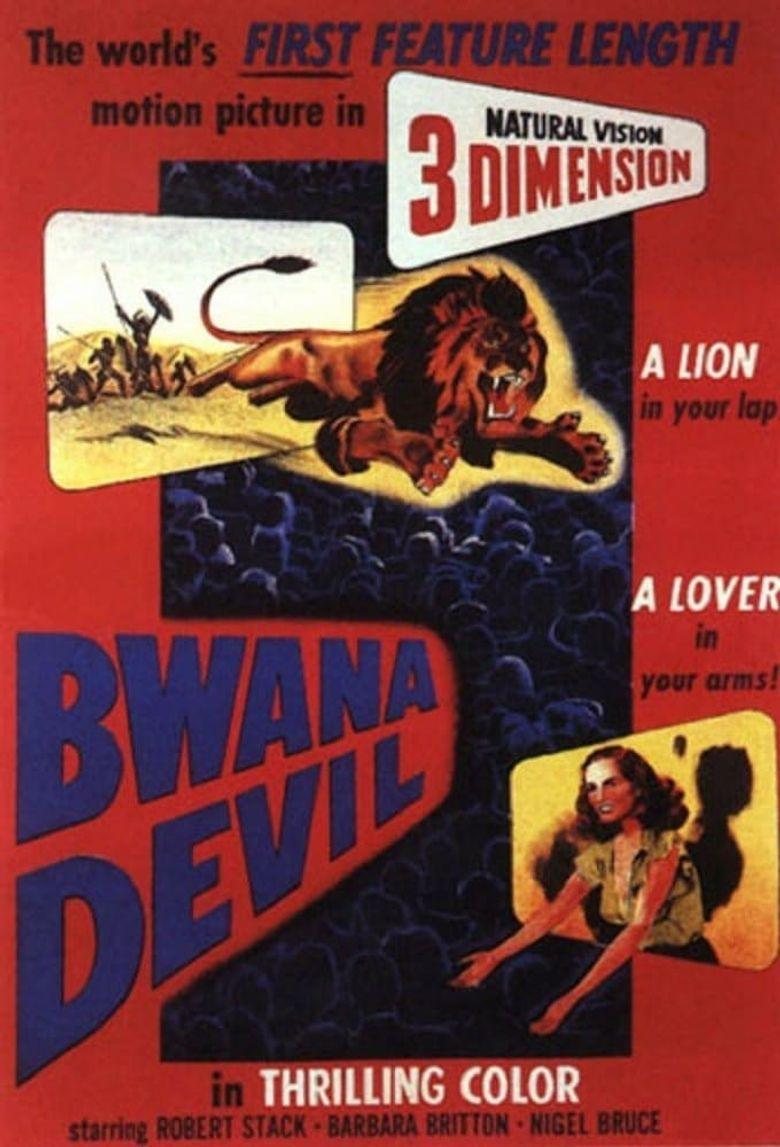 Bwana Devil Poster
