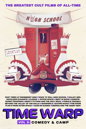 Time Warp: The Greatest Cult Films of All-Time - Vol. 3: Comedy and Camp Poster