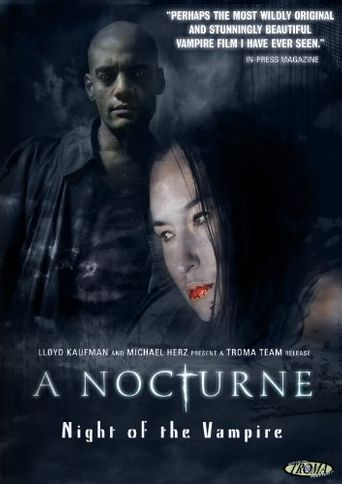 A Nocturne: Night Of The Vampire Poster