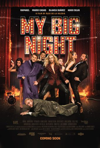 My Big Night Poster