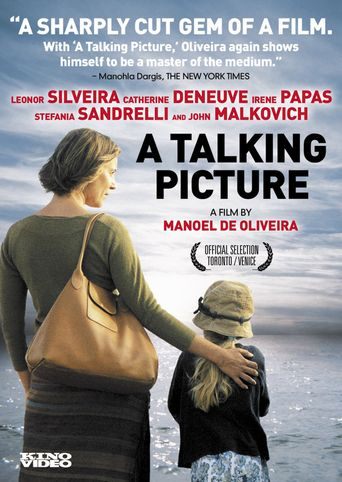 A Talking Picture Poster