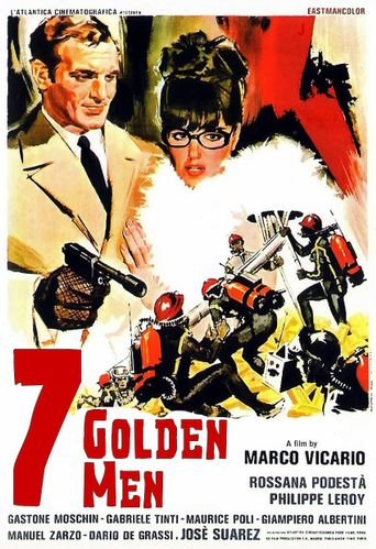 Seven Golden Men Poster