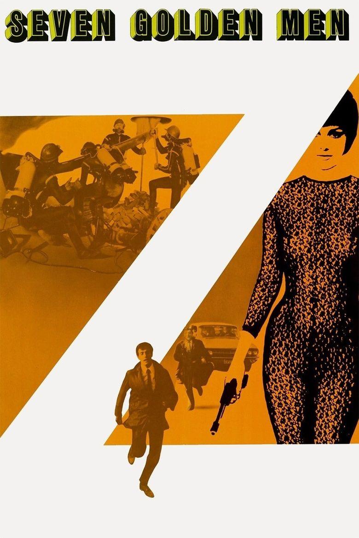 Seven Golden Men Poster