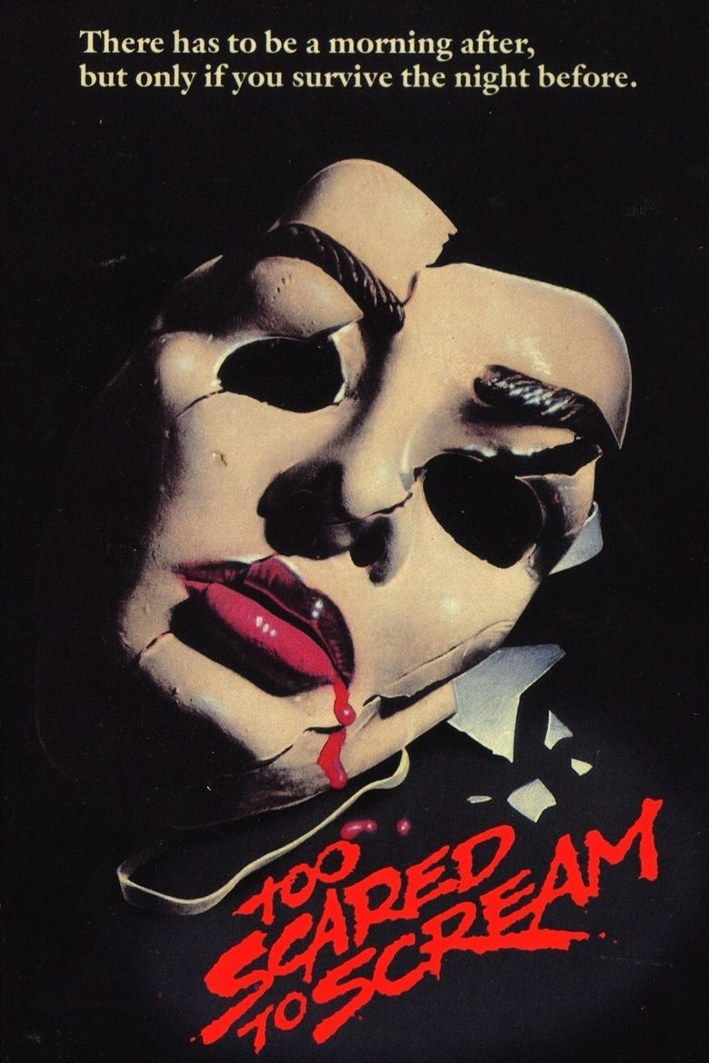 Too Scared to Scream Poster