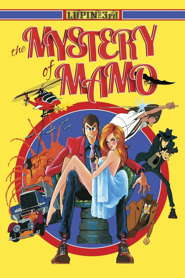 Lupin the Third: The Mystery of Mamo Poster