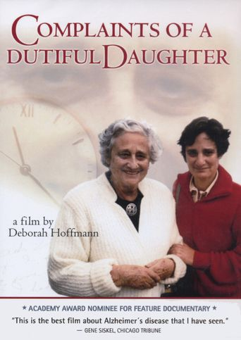 Complaints of a Dutiful Daughter Poster