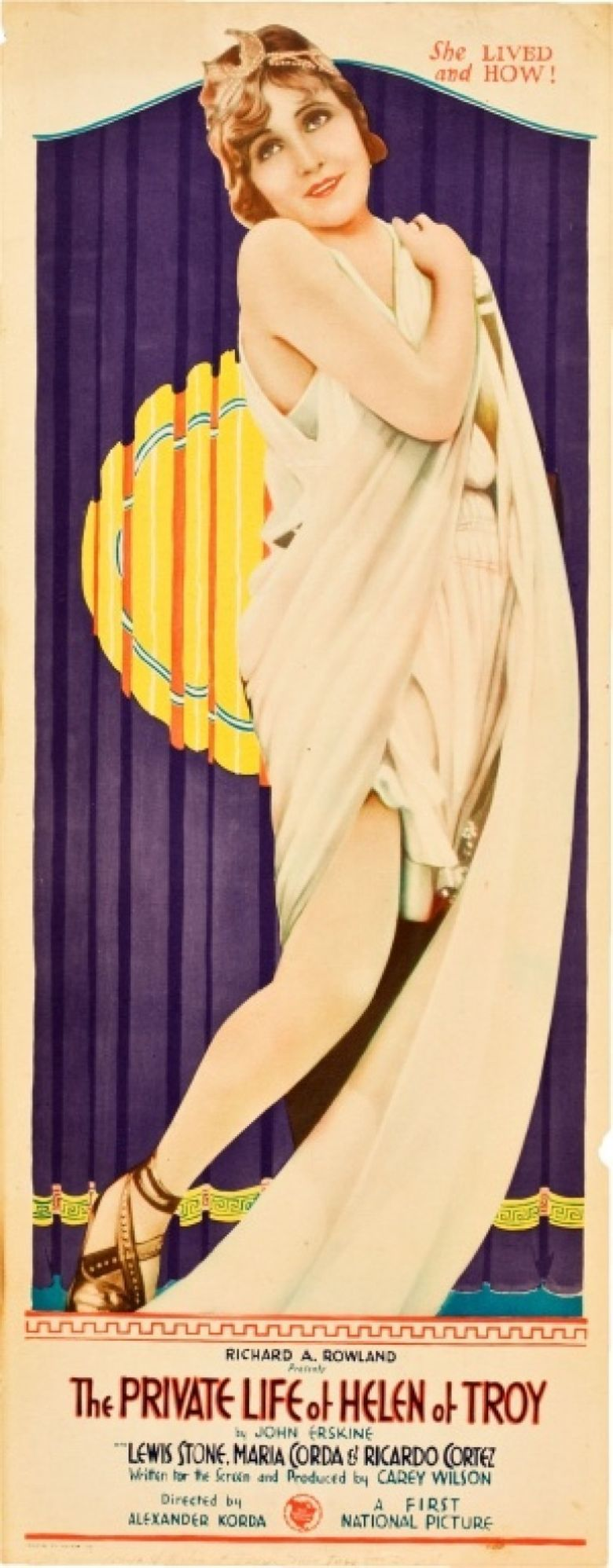 The Private Life of Helen of Troy Poster