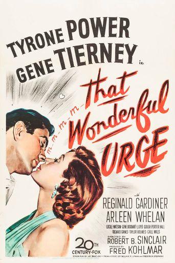 That Wonderful Urge Poster
