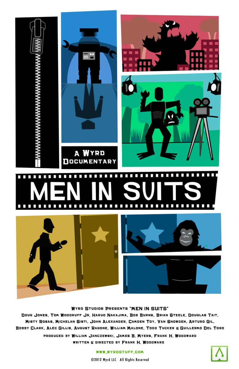 Men in Suits Poster