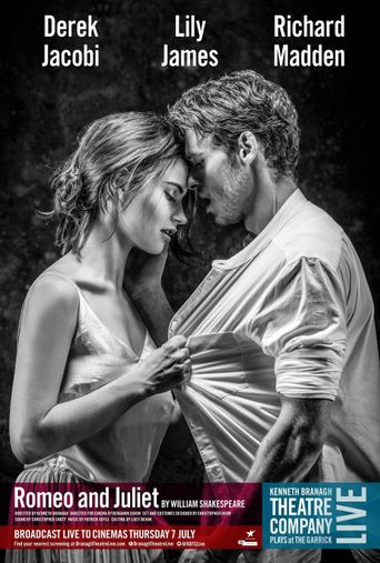 Kenneth Branagh Theatre Company Live: Romeo and Juliet Poster
