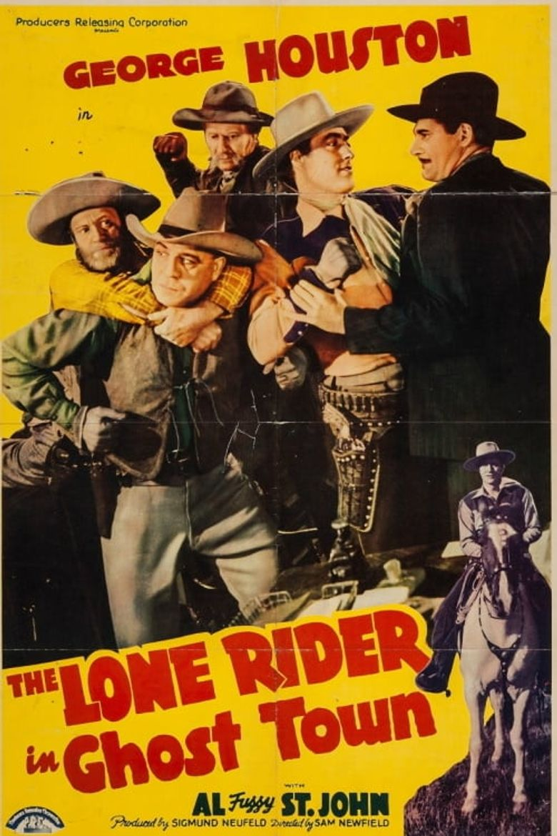 The Lone Rider in Ghost Town Poster