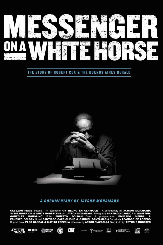 Messenger on a White Horse Poster