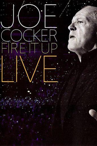 Joe Cocker – Fire It Up Live Poster