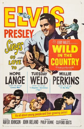 Wild in the Country Poster