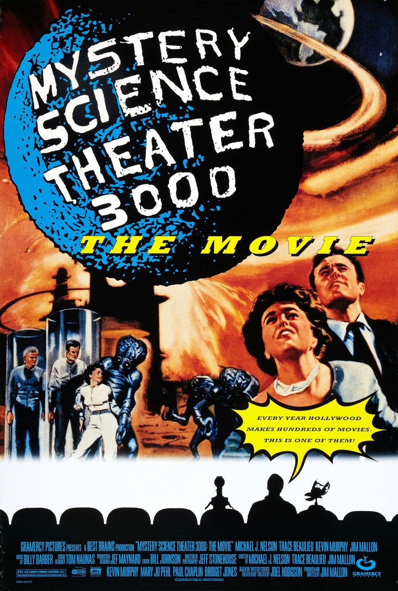 Mystery Science Theater 3000: The Movie Poster