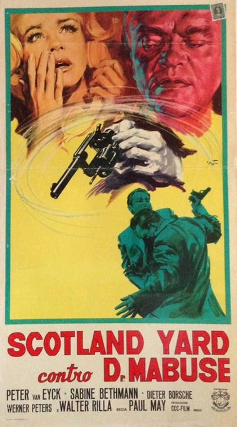 Dr. Mabuse vs. Scotland Yard Poster