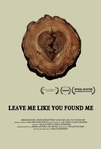 Leave Me Like You Found Me Poster