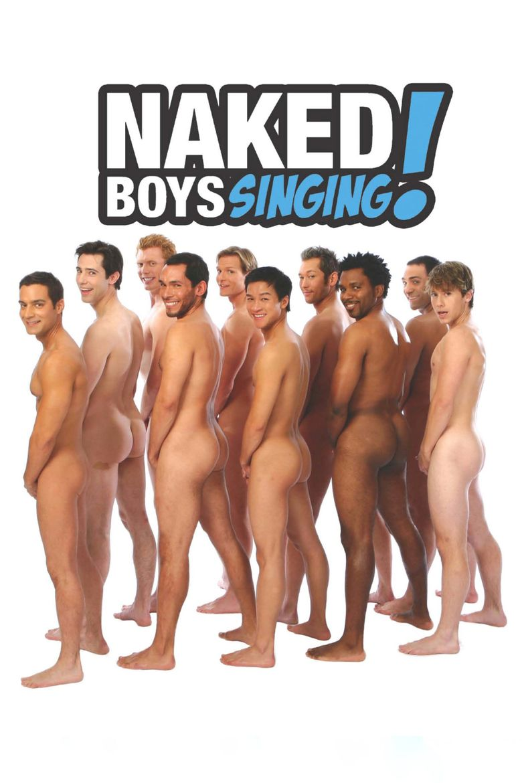 Naked Boys Singing! Poster