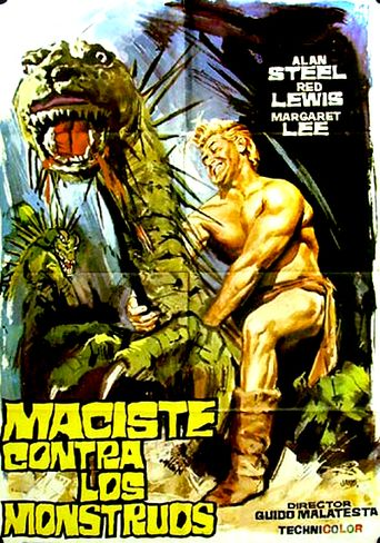 Fire Monsters Against the Son of Hercules Poster