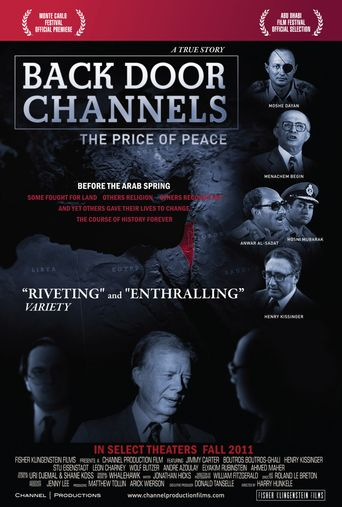 Back Door Channels: The Price of Peace Poster