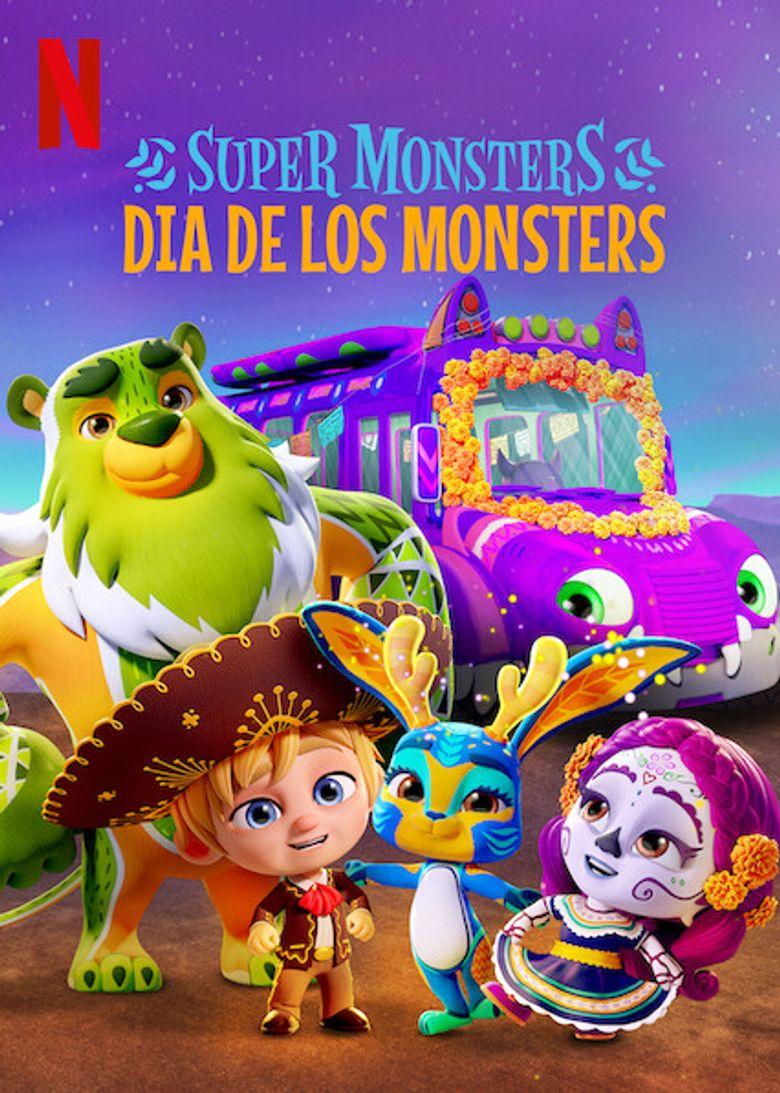 Super Monsters: Dia de los Monsters Poster