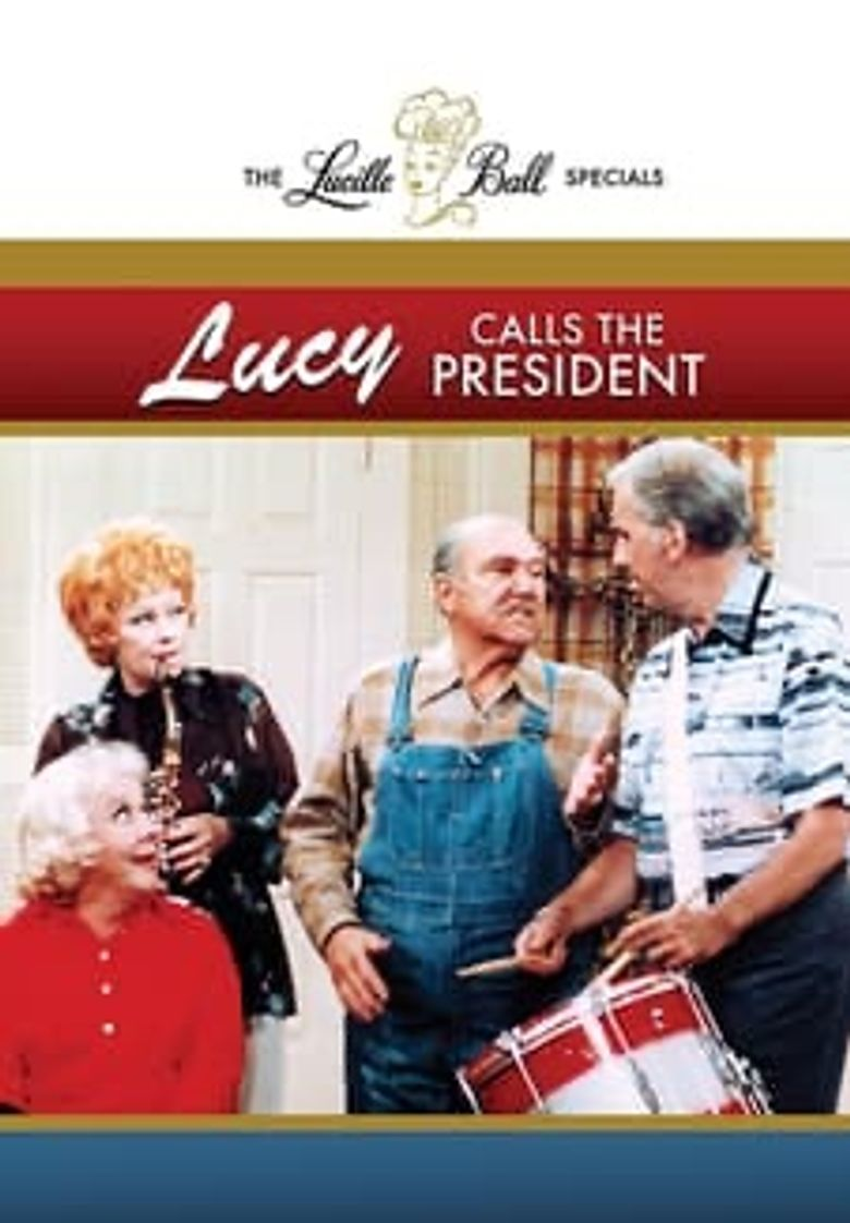 Lucy Calls the President Poster