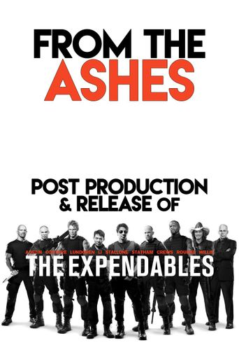 From the Ashes: Post-Production and Release of 'The Expendables' Poster