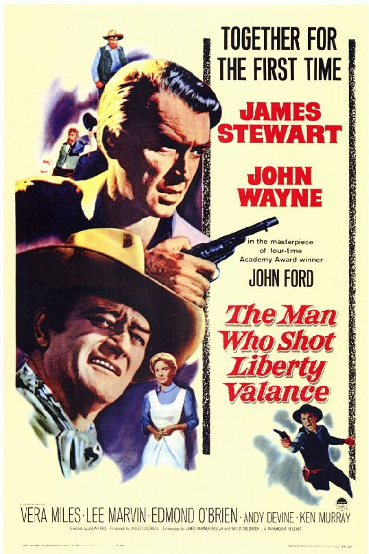 The Man Who Shot Liberty Valance Poster