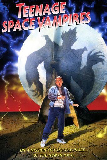 Teenage Space Vampires Poster