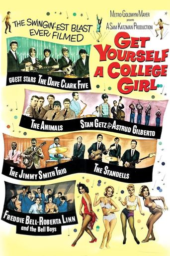 Get Yourself a College Girl Poster