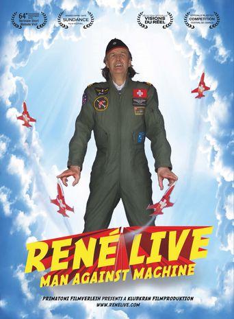 René Live - Man Against Machine Poster