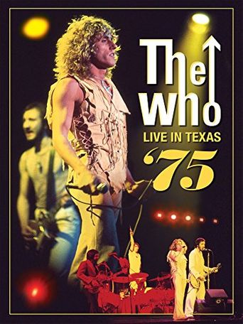 The Who: Live in Texas '75 Poster