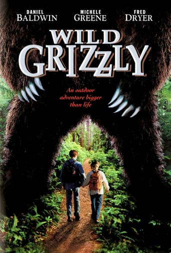 Wild Grizzly Poster