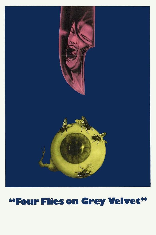 Four Flies on Grey Velvet Poster