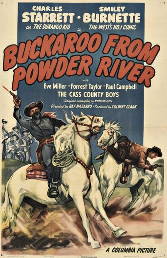 Buckaroo from Powder River Poster