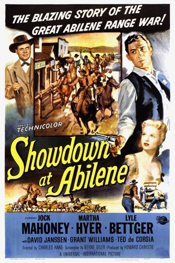 Showdown at Abilene Poster