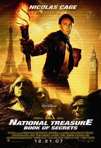 Watch National Treasure: Book of Secrets