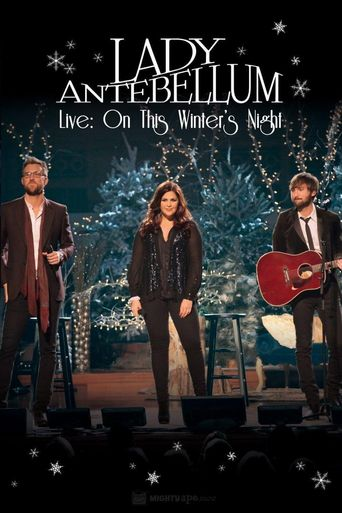Lady Antebellum Live: On This Winter's Night Poster