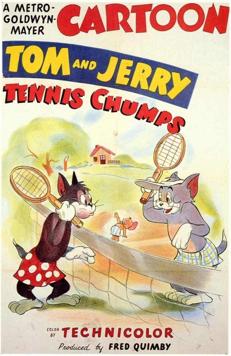Tennis Chumps Poster