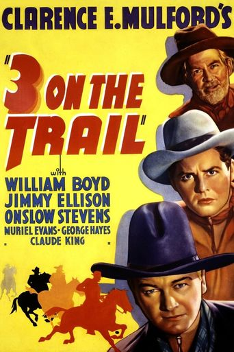 Three on the Trail Poster